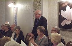 Andrzej Olszewski na spotkaniu z seniorami