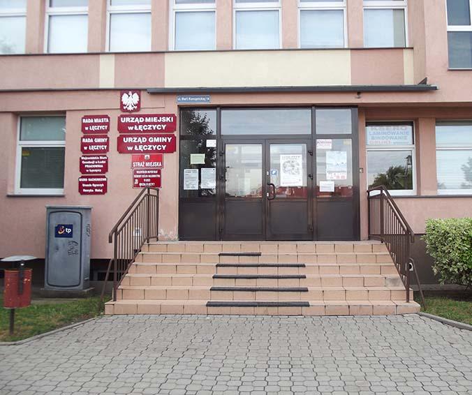 Strach w łęczyckim magistracie!0