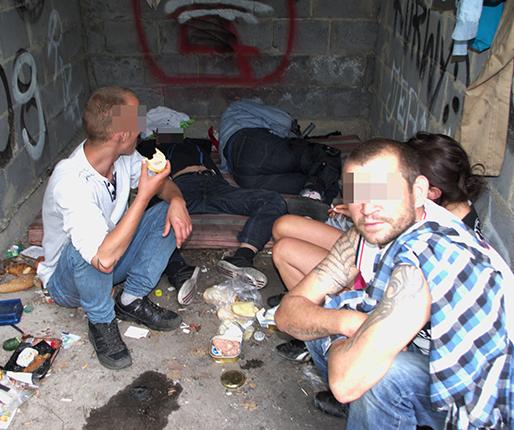 Najmłodsza bezdomna ma 23 lata0