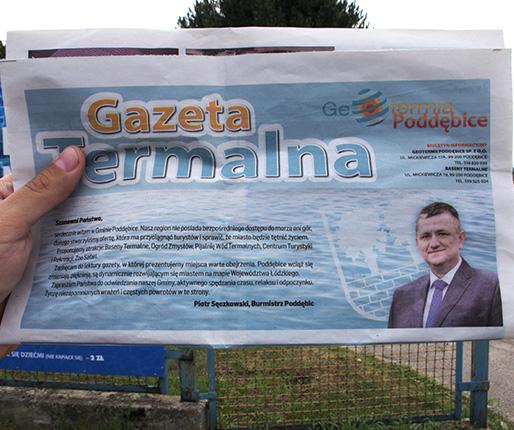 Burmistrz reklamuje, mieszkańcy krytykują2