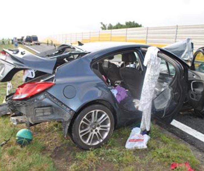 Tragedia na autostradzie. Zginęły dzieci!