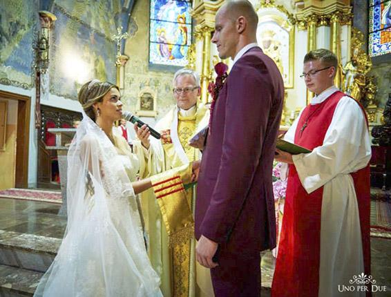 To był ślub jak z najpiękniejszej bajki0