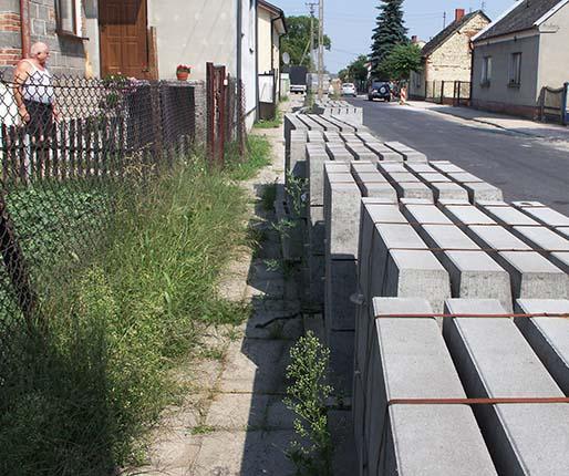 Blokada na chodnikach trwa nadal5