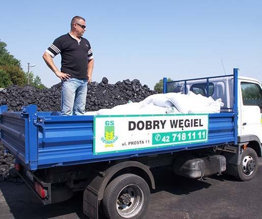 Upały napędzają klientów składom węgla