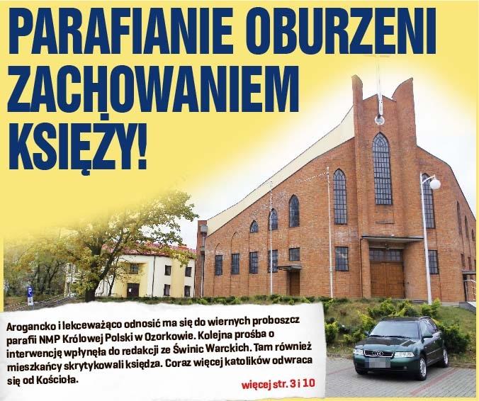 Parafianie oburzeni zachowaniem księży!