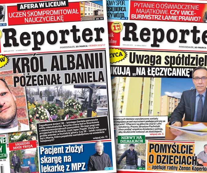 """Uwaga spółdzielcy! Oszukują """"na Łęczycankę"""" oraz Król Albanii pożegnał Daniela"""
