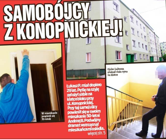 Samobójcy z Konopnickiej!