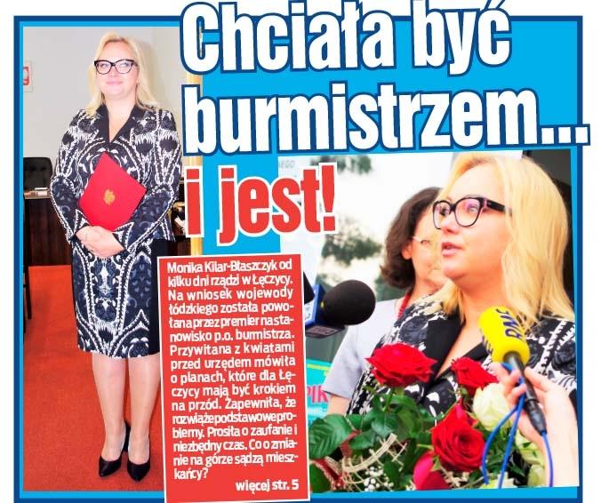 Chciała być burmistrzem... i jest!