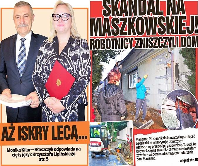 Skandal na Maszkowskiej! Robotnicy zniszczyli dom oraz Aż iskry lecą...