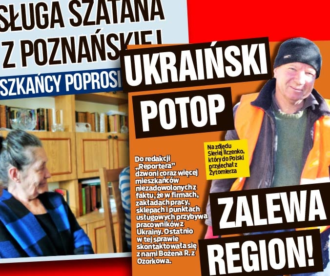 SŁUGA SZATANA Z POZNAŃSKIEJ oraz UKRAIŃSKI POTOP ZALEWA REGION!