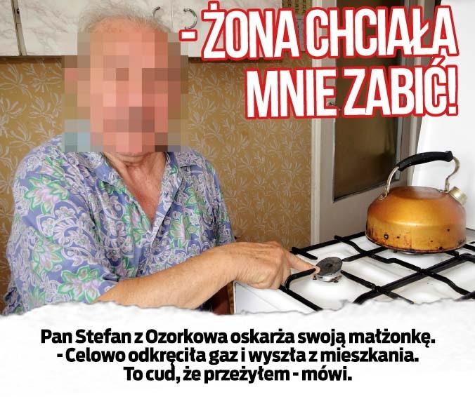 - ŻONA CHCIAŁA MNIE ZABIĆ!