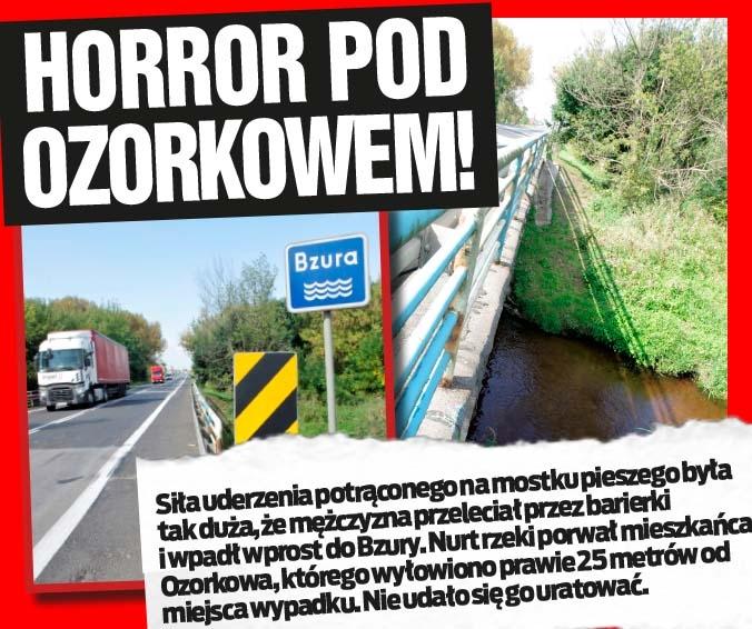 Horror pod Ozorkowem!