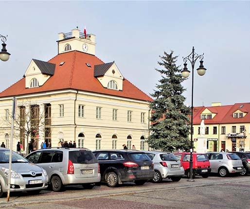 Ławka Niepodległości w Łęczycy