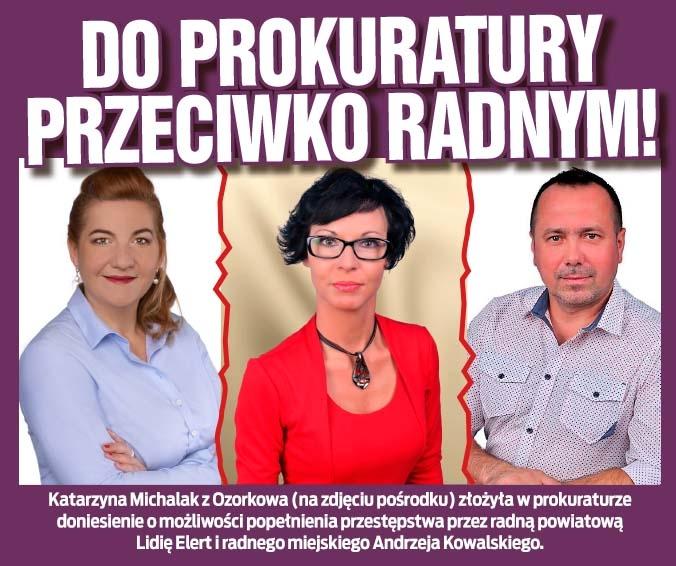 Do prokuratury przeciwko radnym!