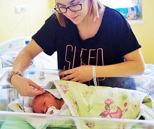 Noworoczny noworodek