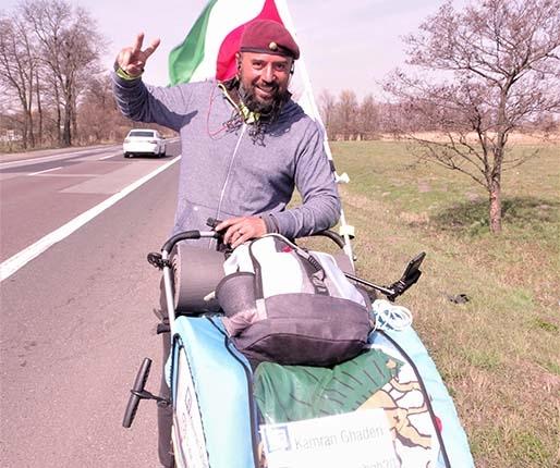Na pieszo do Iranu!
