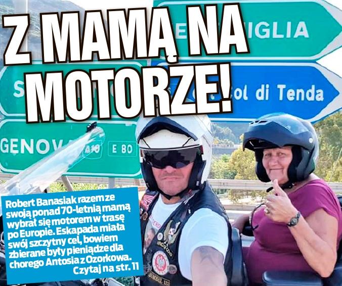 Z MAMĄ NA MOTORZE!