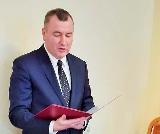 Zbigniew Wojtera złożył ślubowanie