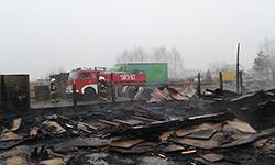 pożar tartak - na podwał