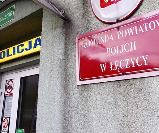 policja łęczyca