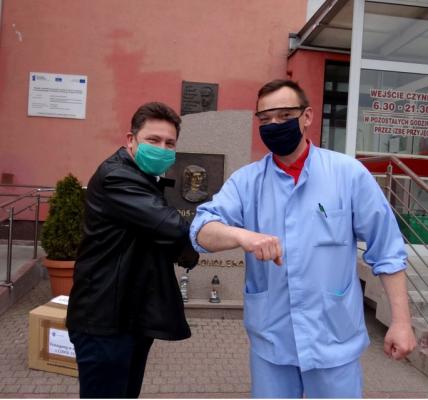 pomoc dla szpitala