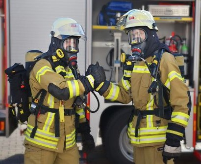 Strażacy Łęczyca