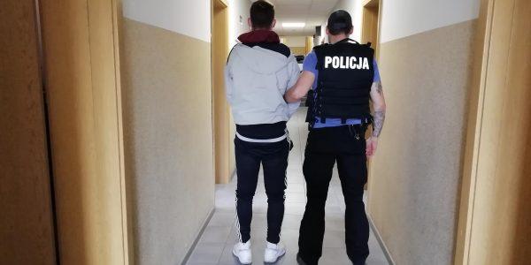 fałszywy policjant