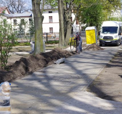 remont parku w ozorkowie