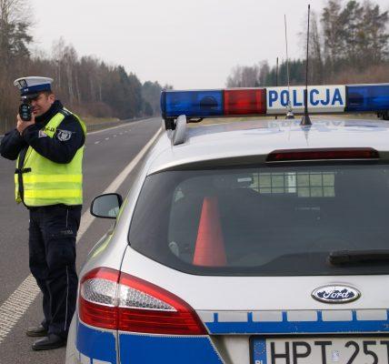 policja prędkość