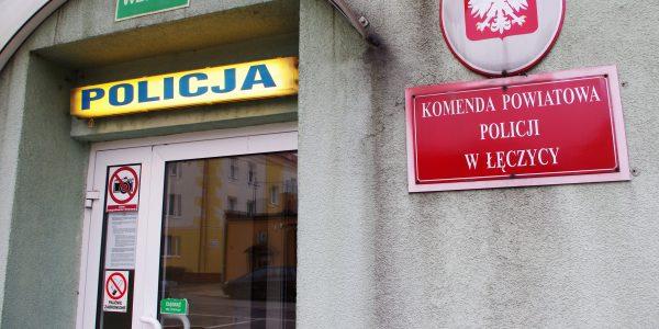komenda policji w Łęczycy