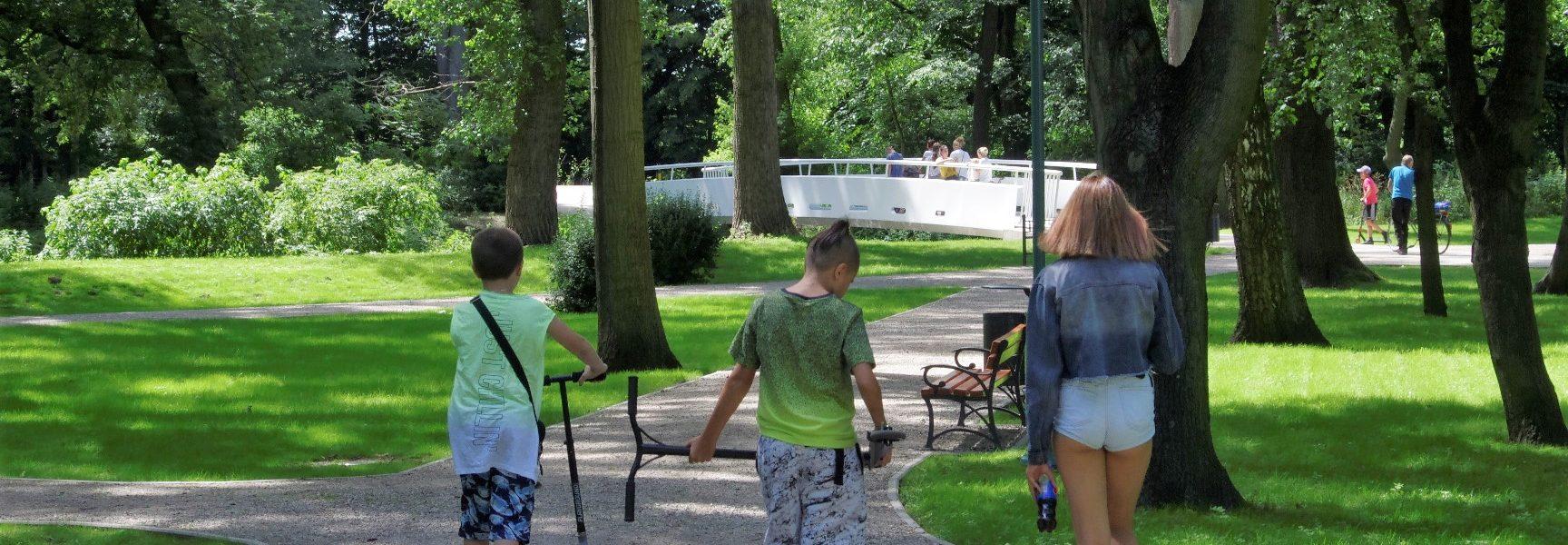 park miejski w ozorkowie