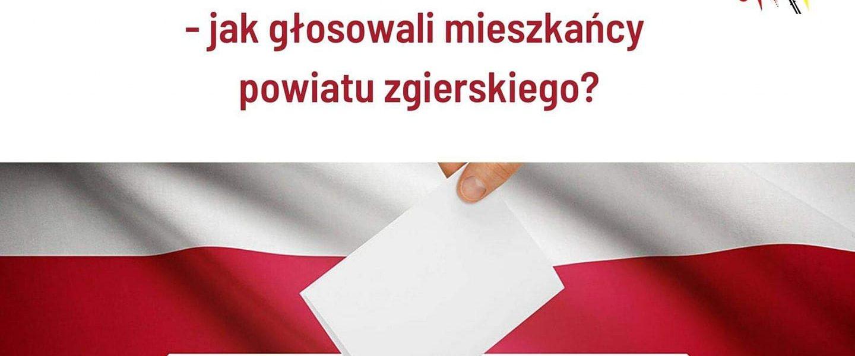 wybory w powiecie zgierskim