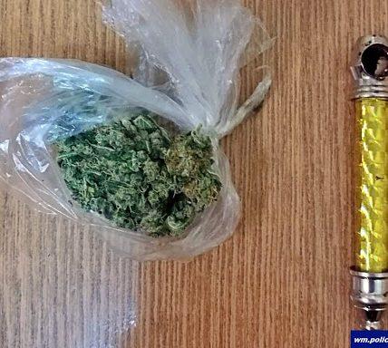 narkotyki w foliówce