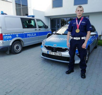 policjant mistrzem świata