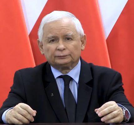 kaczyński przemówił