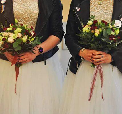 kobiety wzięły ślub
