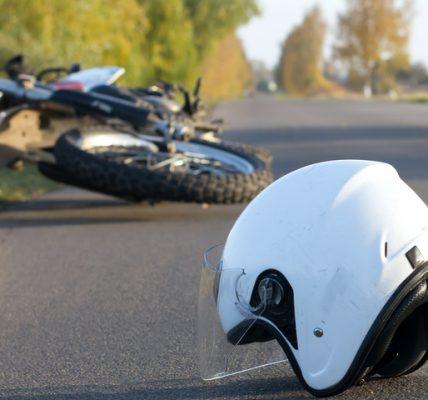 śmierć motocyklisty