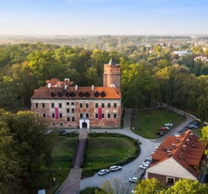 zamek w uniejowie