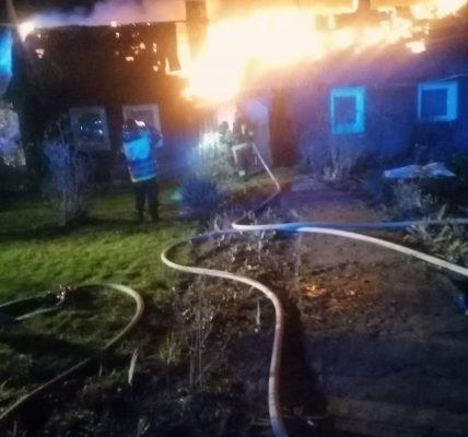 uratowali z pożaru