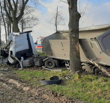 kierowca tira zginął