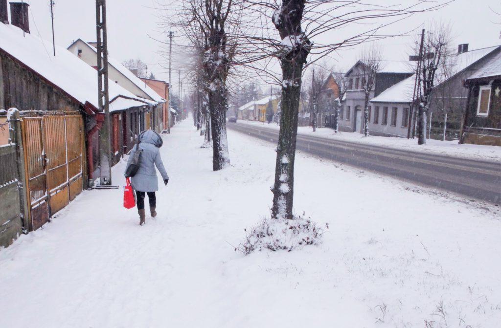 zima w ozorkowie