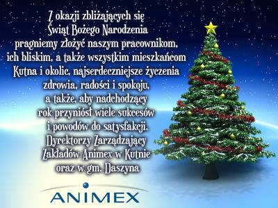 życzenia animex