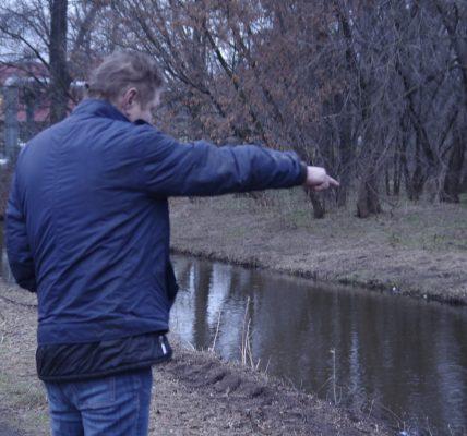 ciało w rzece