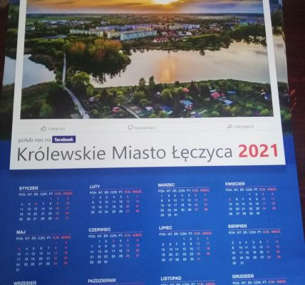 burmistrz z kalendarzami