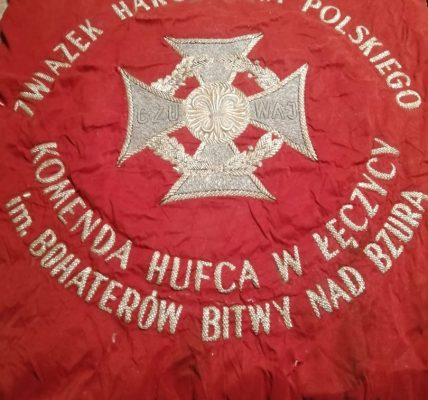 sztandar dla burmistrza