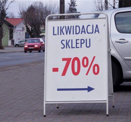 likwidacja sklepu