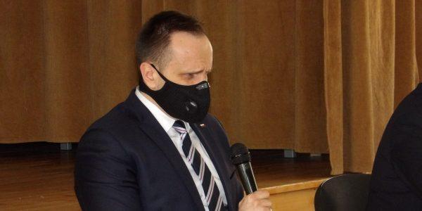 minister odwiedził łęczycę