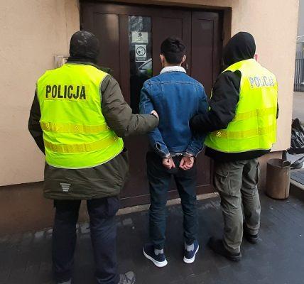 gruzin zatrzymany