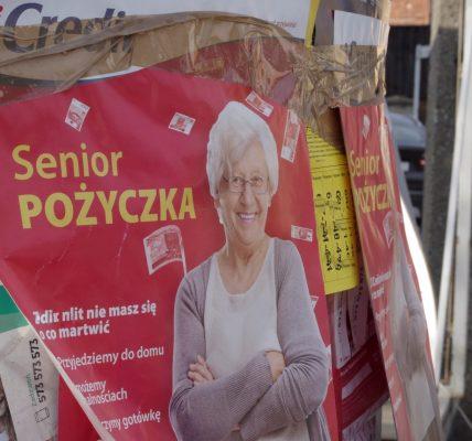 zadłużeni seniorzy