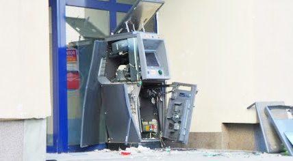 wysadzili bankomat